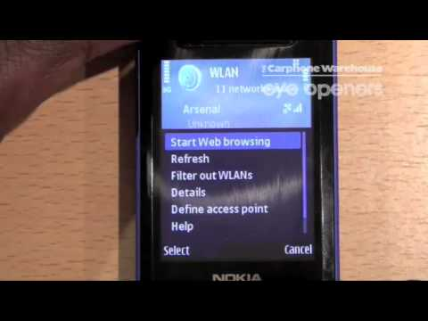 How to connect to WIFI on the Nokia Series 60