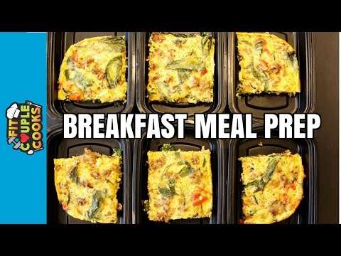 How to Meal Prep  Ep. 35  BREAKFAST FRITTATA