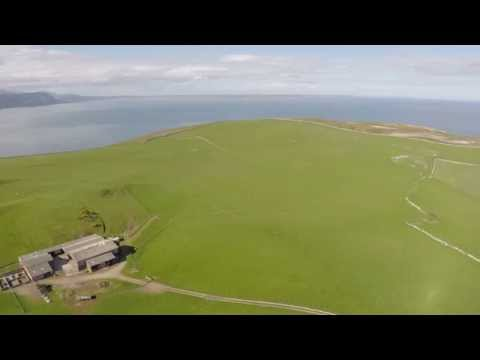 360 degree view of Parc Farm on the Great Orme, near Llandudno, Wales