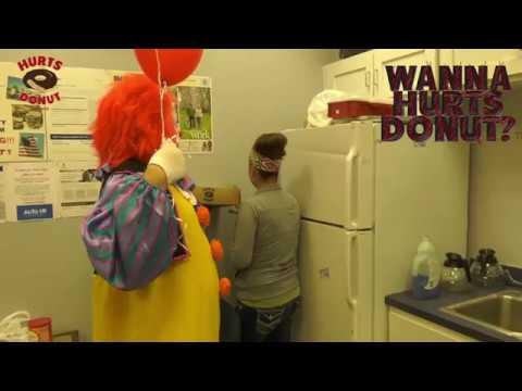 Hurts Donut Company Cupid delivers a boardroom catwalkиз YouTube · Длительность: 1 мин16 с