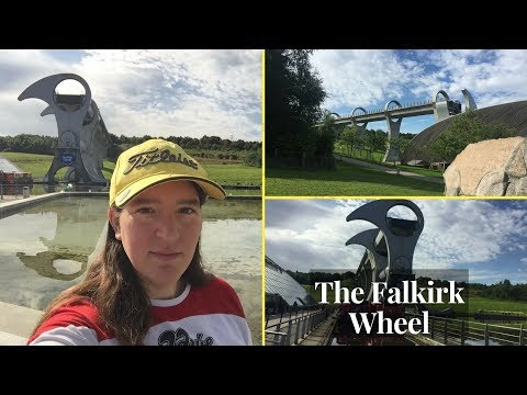 The Falkirk Wheel - Canal Boat Lift