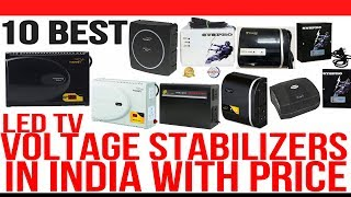 Top 10 Best Voltage Stabilizers in India with Price | Best Stabilizer For LED TV