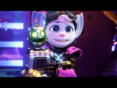 Rivet Meets Ratchet For The First Time – Ratchet & Clank: Rift Apart PS5 2021