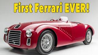 We Found The Very First Ferrari 1947 Ferrari 125s Youtube