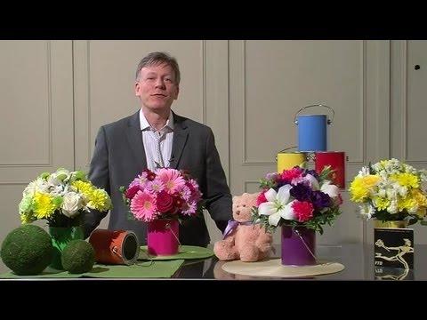 Easy To Make Flower Arrangements For Baby Showers : Flower Arrangements