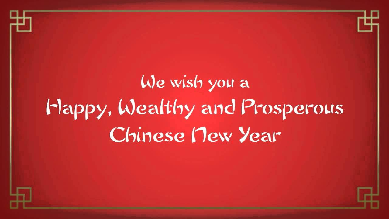 Chinese New Year 2014 Video Animation Greeting Card For Sharing