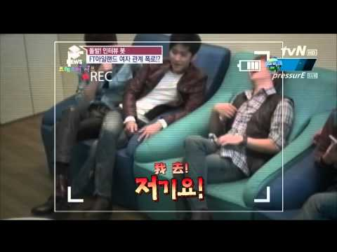 【中字】121024 tvN Enews Interview Bot - FTIsland