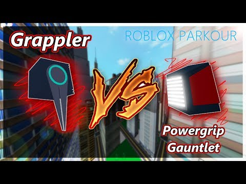 All Badges In Roblox Parkour Roblox Parkour Running With Powergrip Gauntlet Grappler Pgvsgp Youtube