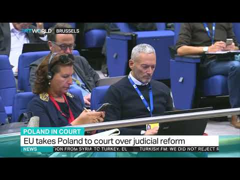 The new Polish law lowers the retirement age of Supreme Court judges from 70 to 65 years, putting 27 out of 72 sitting judges at risk of being forced to retire.