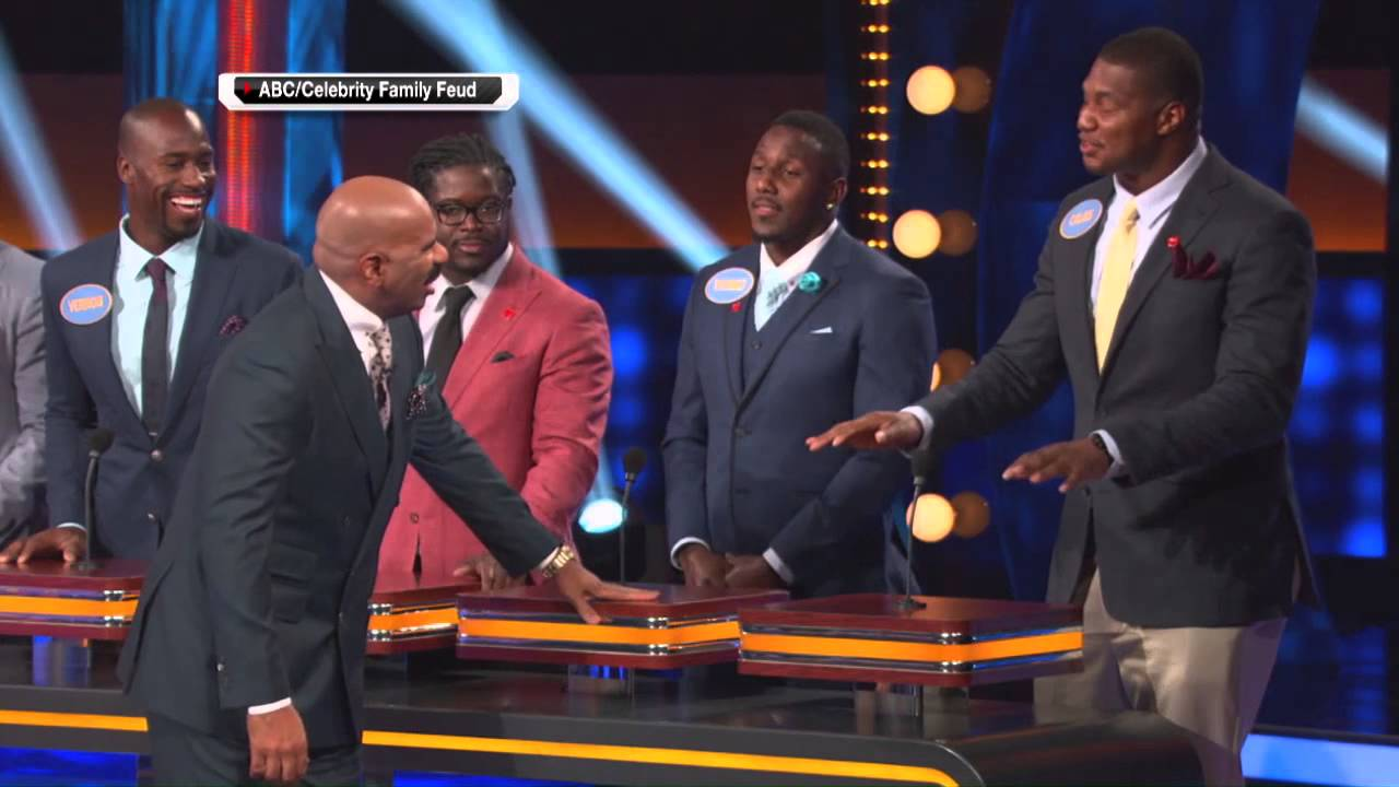 Calais Campbell on Family Feud I m a healthy 300 pounds
