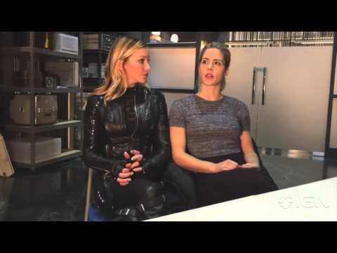 Emily Bett Rickards and Katie Cassidy Talk Felicity and Laurel