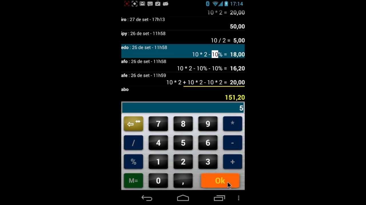 Calc 1 Alteração Débito Conversão De Moeda Calculadora Androïd Pt