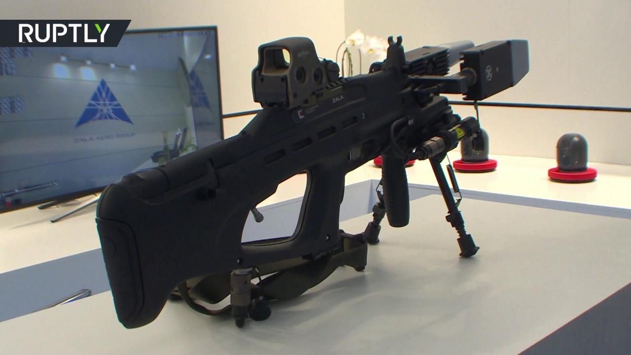 Anti Drone Gun Kalashnikov Presents Its REX 1