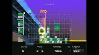 Lumines Plus PlayStation 2 Gameplay - Minty