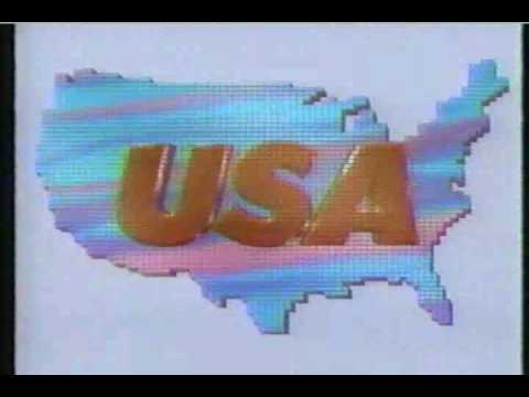 USA Ident 1991 - America's Favorite Cable Network!