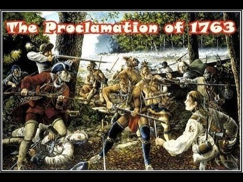 History Brief: The Proclamation of 1763 - YouTube