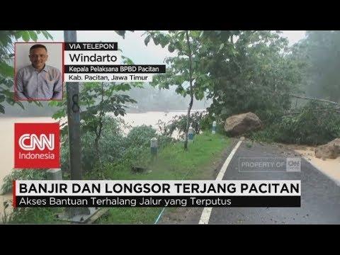 Banjir & Longsor Terjang Pacitan