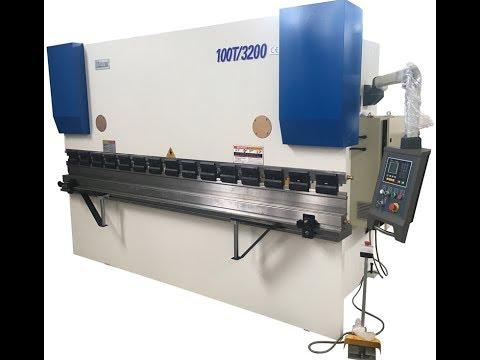 China press break Prima brand High speed hydraulic cnc press break machine with DA41 Bending video