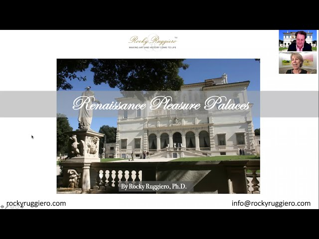 Renaissance Pleasure Palaces with Dr. Rocky Ruggiero: LIVE Virtual Lecture