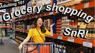 GROCERY SHOPPING FOR MY FAMILY AT SNR! | ASHLEY SANDRINE