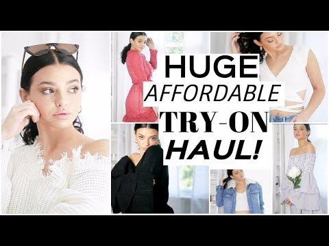 HUGE AFFORDABLE FALL TRY-ON HAUL! | Fashion Trends