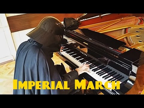 Star Wars - Imperial March played by Darth Vader (Darth Vader`s Theme)
