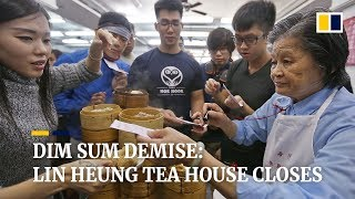 Hong Kong's century-old Lin Heung Tea House about to close