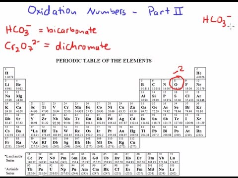 Oxidation numbers part ii mr pauller youtube oxidation numbers part ii mr pauller urtaz