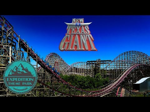The History of The New Texas Giant : The First RMC - Six Flags Over Texas | Expedition Theme Park