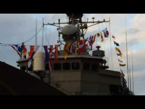 Hellenic Navy ships at Piraeus Port . 6-7-8 December 2013
