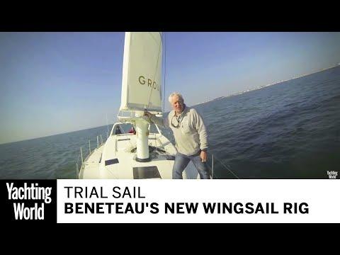A trial sail of Beneteau