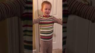 Elliott recites Psalm 23