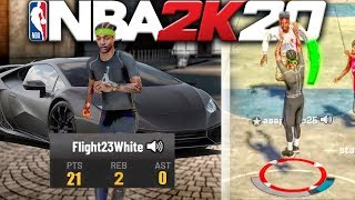 I DROPPED OFF MY BIGGEST 2K HATERS 21-0 W/ BEST ISO PG BUILD AND LEFT HIM SPEECHLESS NBA 2K20!