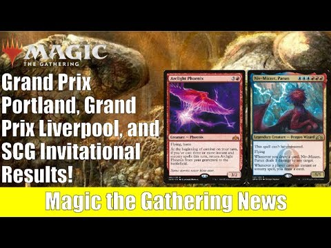 MTG GP Liverpool, GP Portland, SCG Invitation Results and Decklists