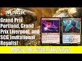 MTG GP Liverpool, GP Portland, SCG Invitation Results and Decklists