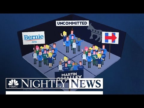 How Do the Iowa Caucuses Work? It's Different for Both Parties | NBC Nightly News
