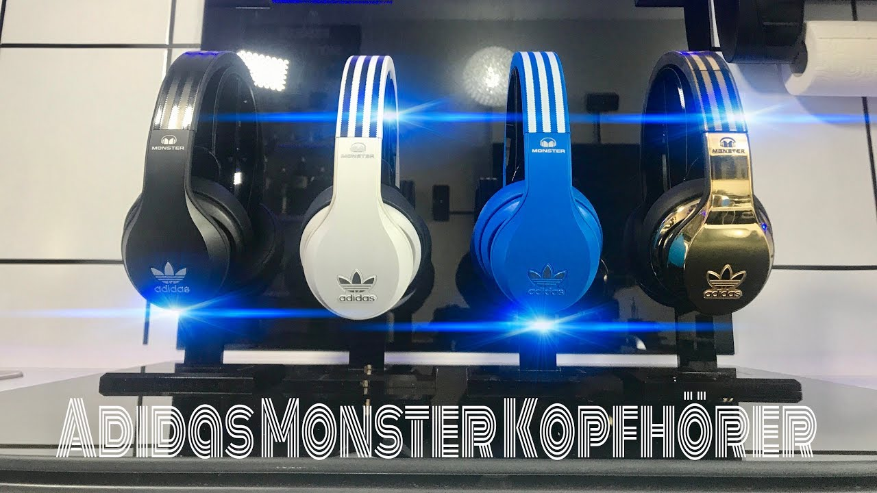 on sale e7f82 138e1 ADIDAS Originals by Monster Over Ear Kopfhörer Headphones   Test   Review