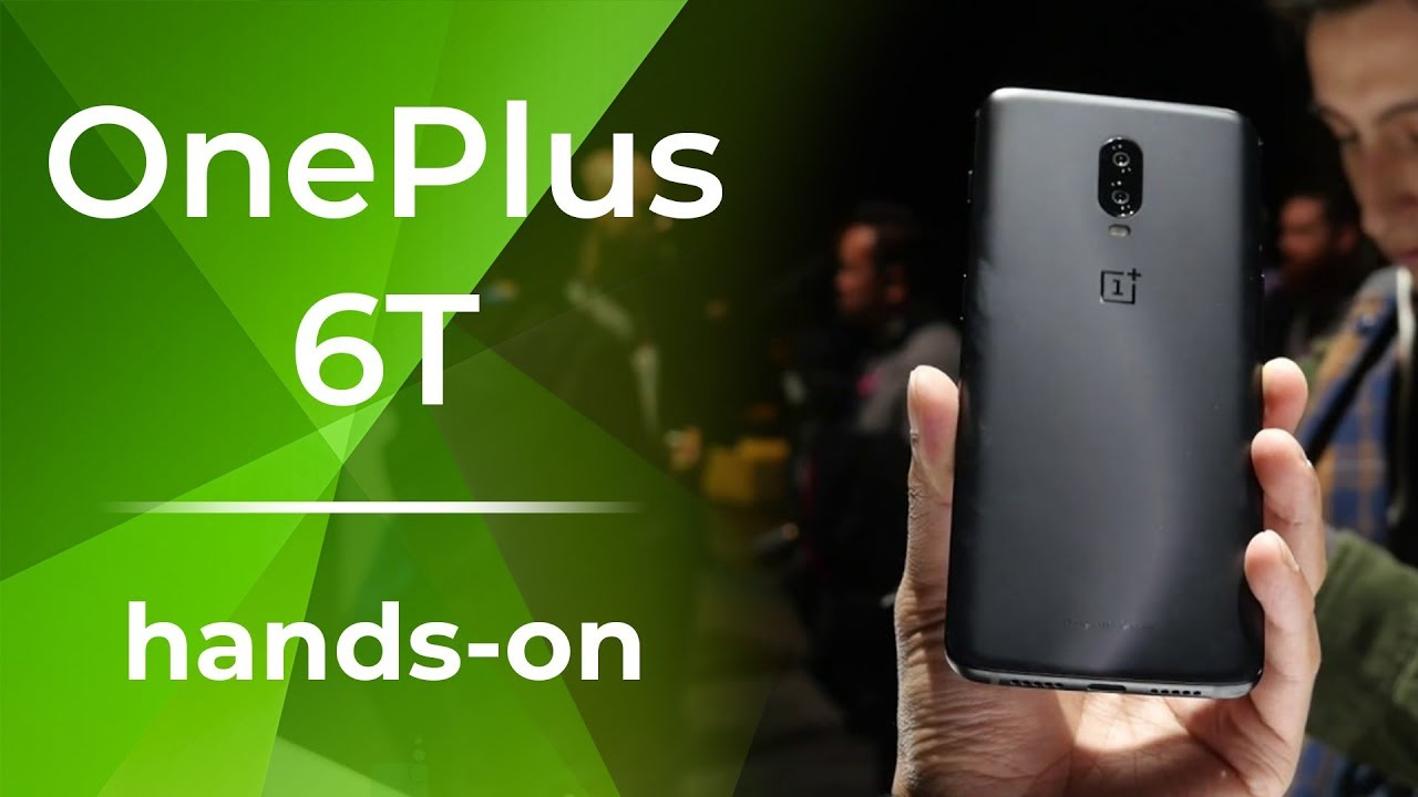 OnePlus 6T is announced with top specs and in-display