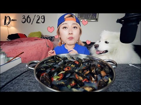 Keto Diet Challenge D-30/29 -  Mussel Soup Recipe Mukbang and more | KEEMI★