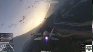 Война на воздухе часть II - GTA V ONLINE