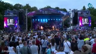 Группа StereoBand выступила в Великом Новгороде в День металлурга