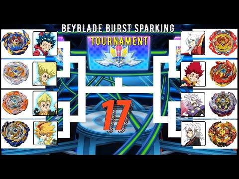 Beyblade Burst Sparking Tournament 17  Who Wins? 베이블레이드 버스트 스파킹 슈퍼킹 진검 토너먼트 17회 ベイブレードバースト トーナメント17