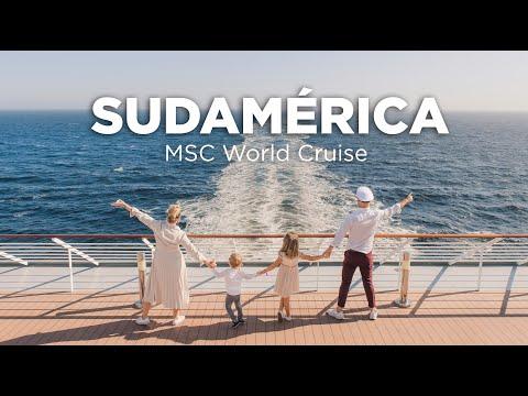 Sudamérica con Molaviajar. MSC World Cruise