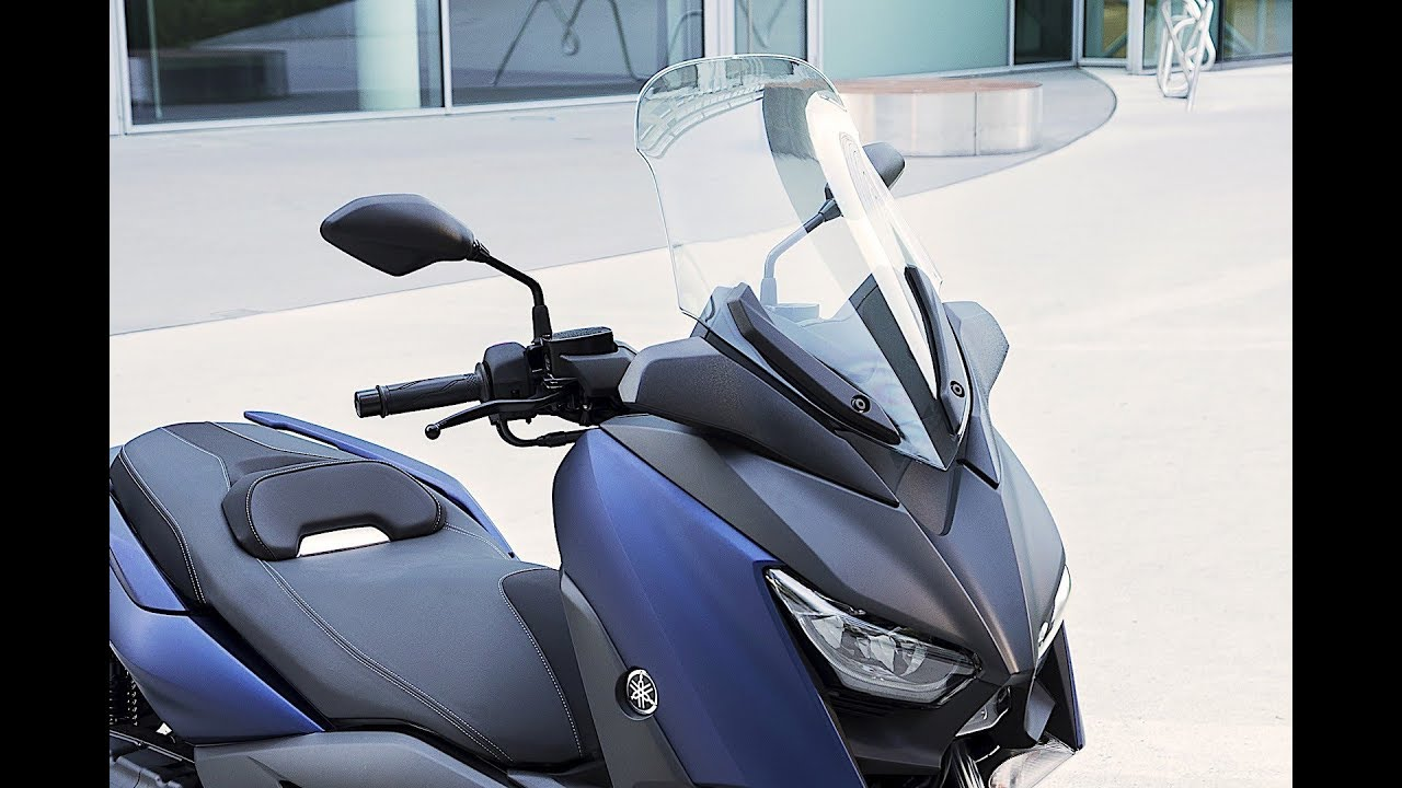 New 2018 Yamaha XMAX 400 ABS - Test ride - YouTube