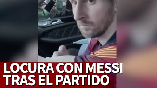 BARCELONA 4-OSASUNA 0 | MESSI, tras homenajear a MARADONA con los fans | Diario AS