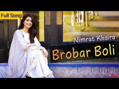 BROBAR BOLI by (nimrat khaira ) || new song