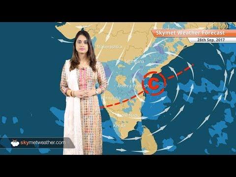 Weather Forecast for Sep 28: Rain in Bengaluru, Hyderabad, Kolkata; Delhi, Mumbai to remain dry
