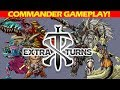 Extra Turns #01 with Wedge and The Professor l Magic: the Gathering Commander/EDH Gameplay