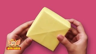 Arts and Crafts - Origami - Origami - Make a Box with sections - Part 1