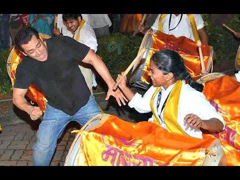 Salman Khan Ganesh Visarjan 2015 UNCUT...